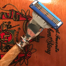 Load image into Gallery viewer, Hand-turned Maple Burl Razor