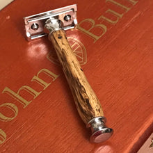 Load image into Gallery viewer, Safety Razor Peruvian Spalted Wood