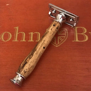 Safety Razor Peruvian Spalted Wood