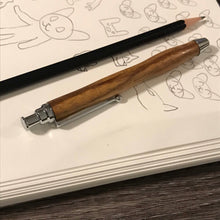 Load image into Gallery viewer, Hand Turned Marble Wood Sketch Pencil 3mm