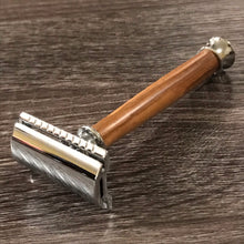 Load image into Gallery viewer, Olive wood Safety Razor