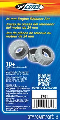 24mm Motor Retainer Set - Estes® 9751