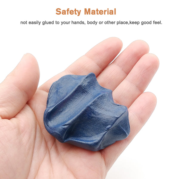 Nicpro Mini Magnetic Slime Blue Magnetic Putty Space Toy Stress Reliever for Kids and Adults for Fun With 4 Monster Eyes