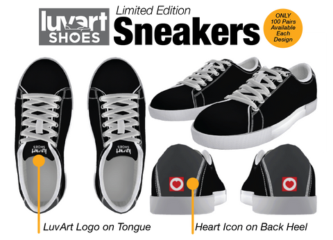 Best Limited Edition Sneakers LuvArt Shoes