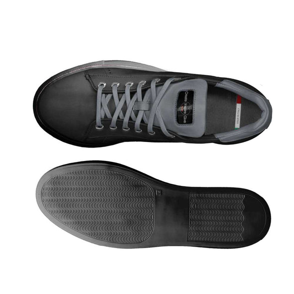 Limited Edition Leather Black Sneaker
