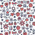Lovebirds pattern