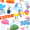 Cloud Party pattern