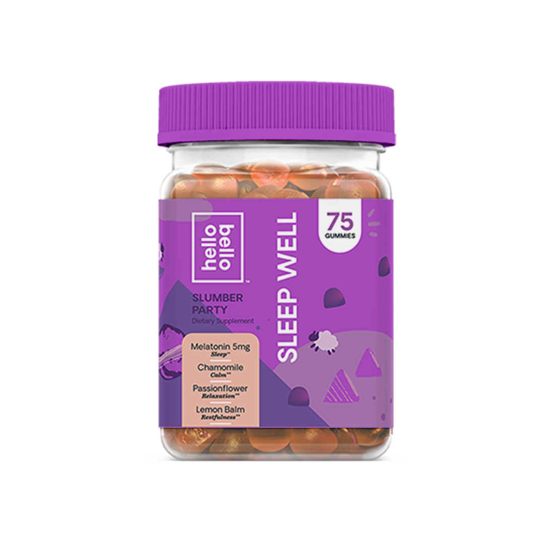 Sleep Well Gummy Vitamins Vegan Hello Bello Gummy Vitamins