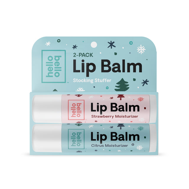 Lip Balm (Strawberry & Citrus) 2 Pack