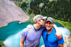 A DUAL MOUNTAIN PROPOSAL: MATT & SAM