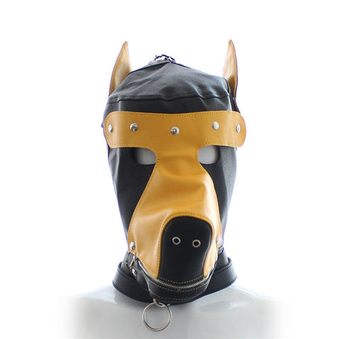 Dog Mask Exotic Leather Sex Slave