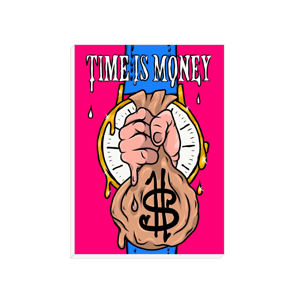 Time is Money - Pink