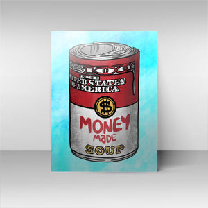 Money Soup - Blue