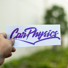 Carphysics Decal