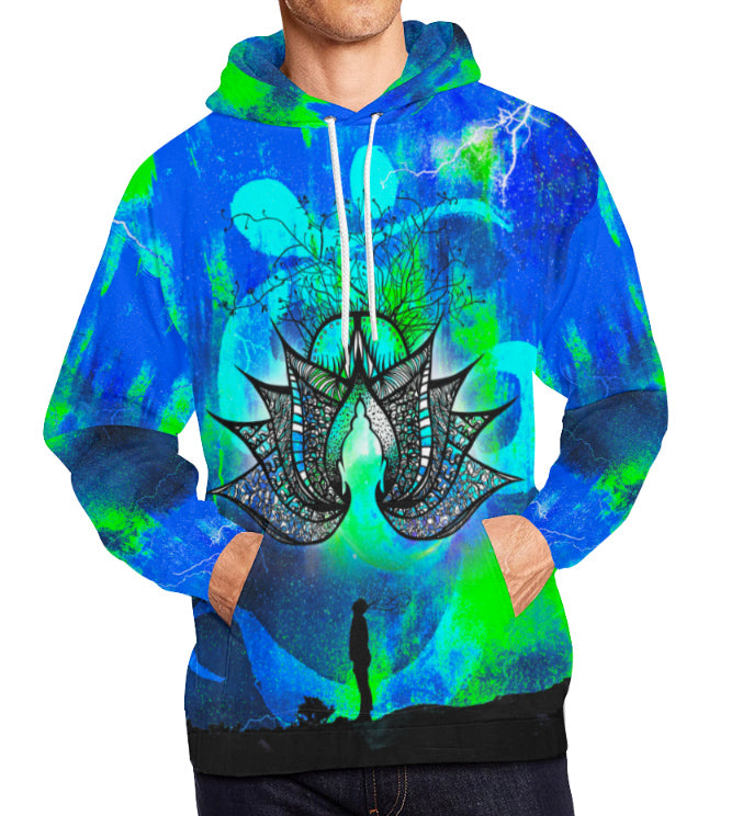 """Floating Lotus"" All-Over Print"