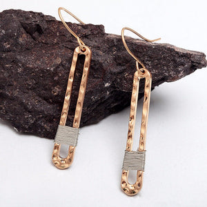 Vintage Geometric Dangle Earrings