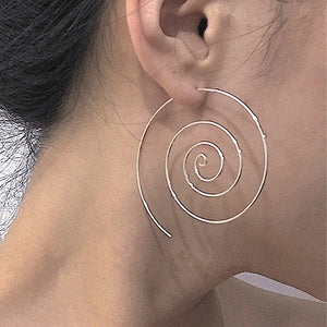 Dance of the Universe-Spiral Earrings
