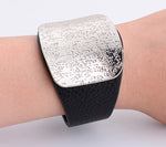 Leather Buckle Cuff Bracelet