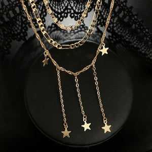 Falling Star Necklace