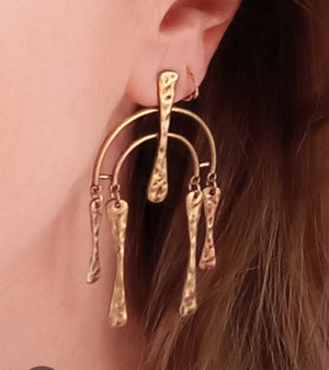 Antique Chandelier Drop Earrings