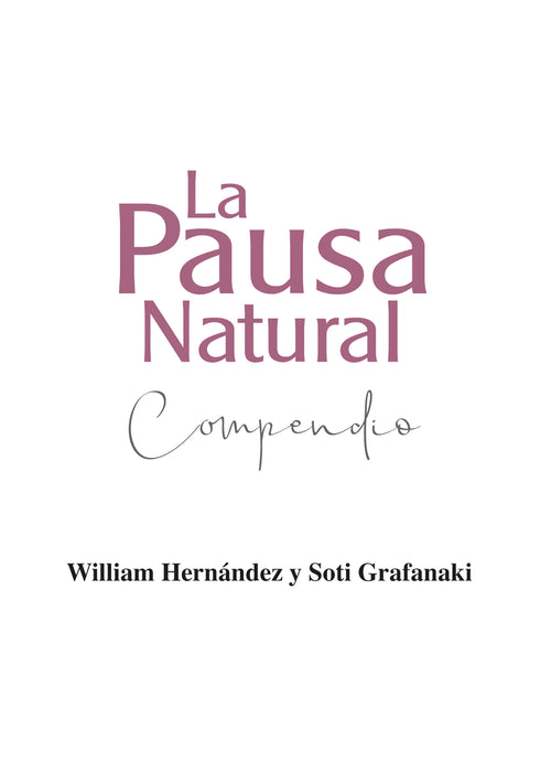 La Pausa Natural - Compendio  (Libro de Bolsillo, Tapa Blanda ) Disponible también en  Apple Books