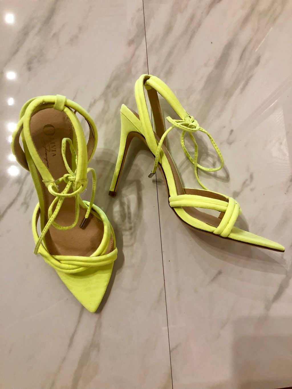 Intimidation Lime Heels - besoboutique
