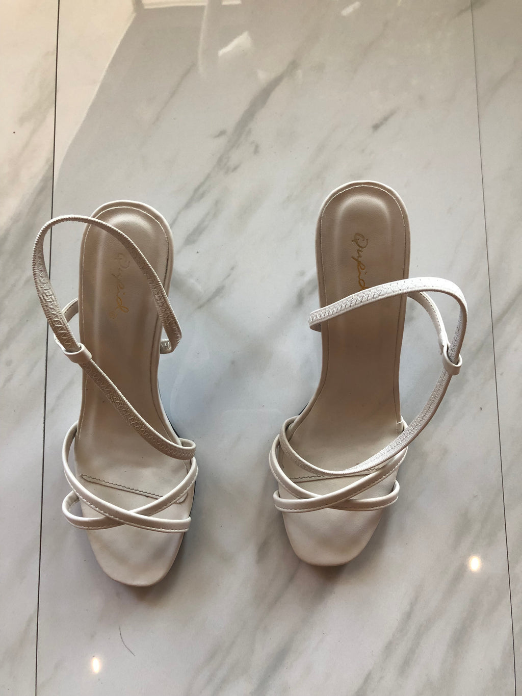 Brunch Cream Heels - besoboutique