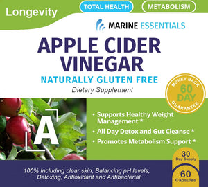 4 Bottles of Apple Cider Vinegar