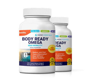 2 Bottles of Body Ready Omega