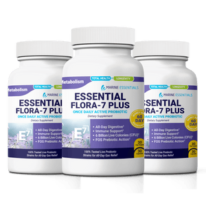 Uncommon Nutrition Essential Flora 7 PLUS 3 Bottles