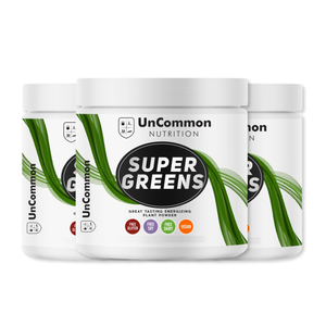 3 Containers of Uncommon Nutrition Super Greens!