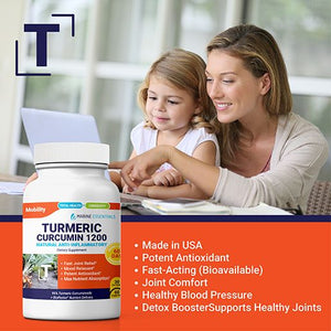 4 Bottles of Turmeric Curcumin