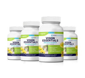 4 Bottles of Vision Essentials