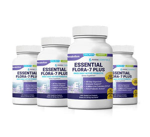 4-Bottles of Essential Flora 7 PLUS