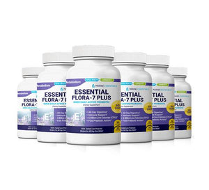 6-Bottles of Essential Flora 7 PLUS