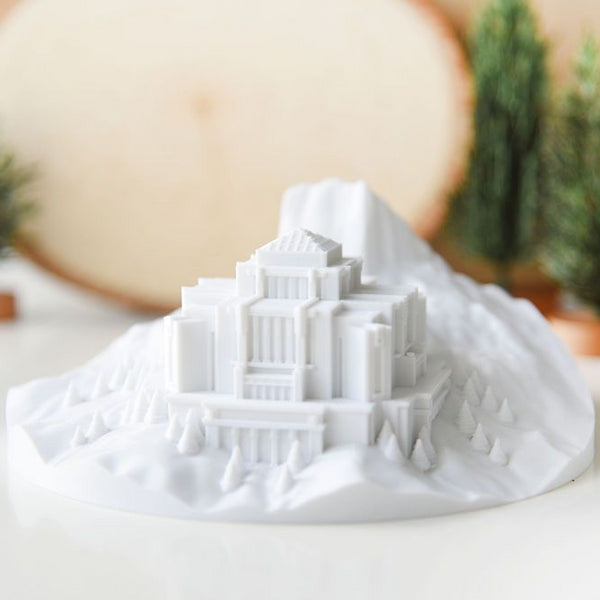 Cardston Temple on Chief Mountain: Mountain of the Lord