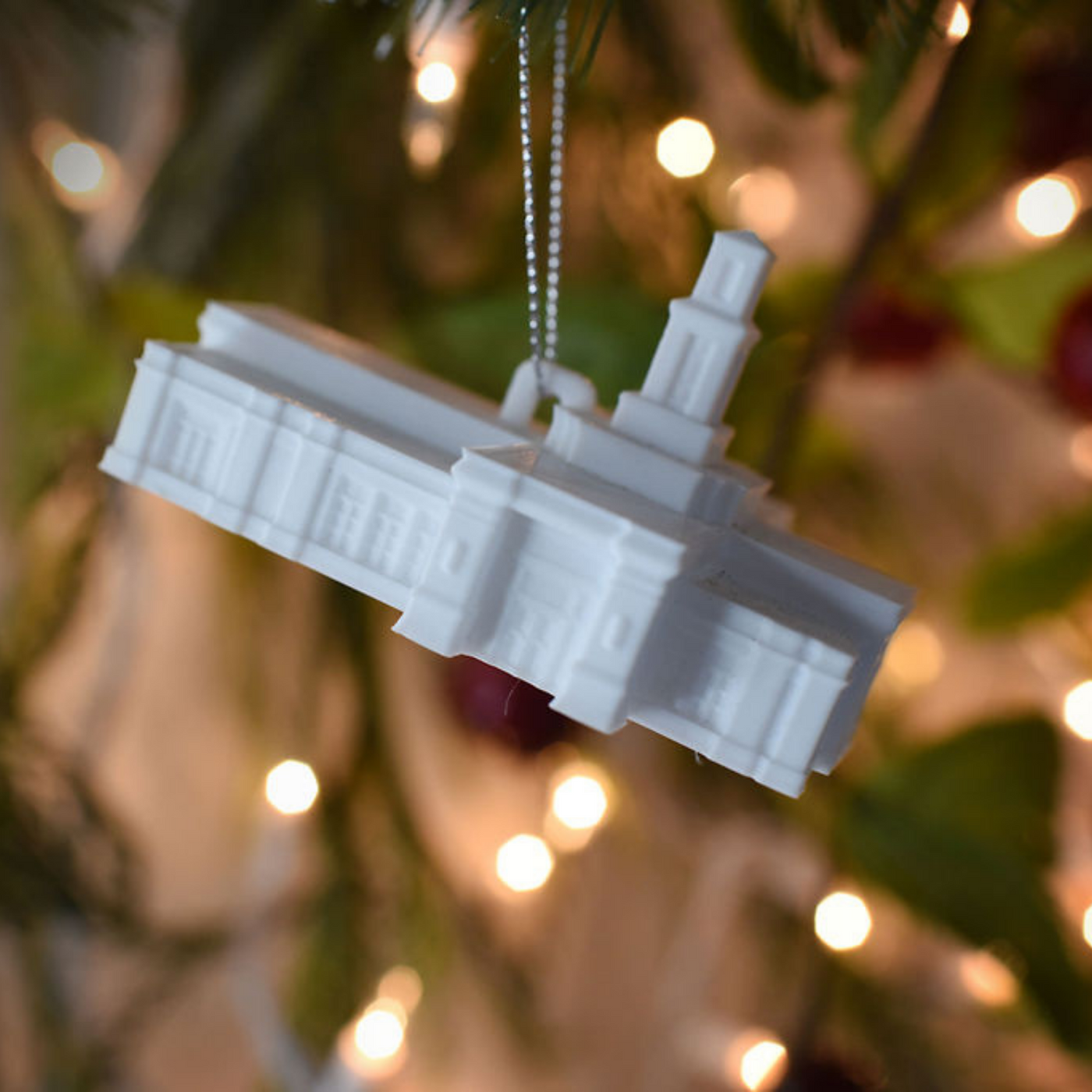 Memphis Tennessee Temple Christmas Ornament