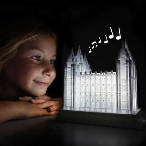 Salt Lake Temple Music Light