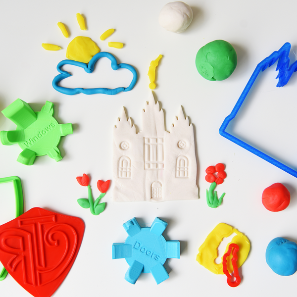 Temple Builder Play Dough Set