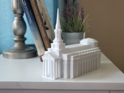 Richmond Virginia Temple Replica Statue