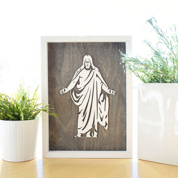 Christus Sign Set: Includes Christ Definition Sign, Christus Sign, Hear Him Sign