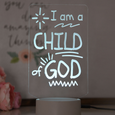 I am a Child of God LED Night Light