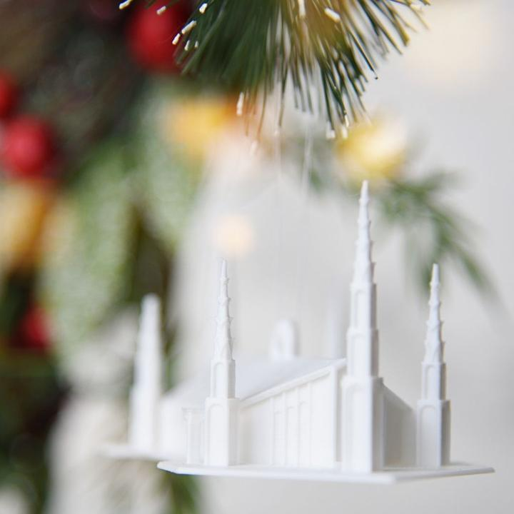 Boise Idaho Temple Christmas Ornament (back ordered until January 15th)