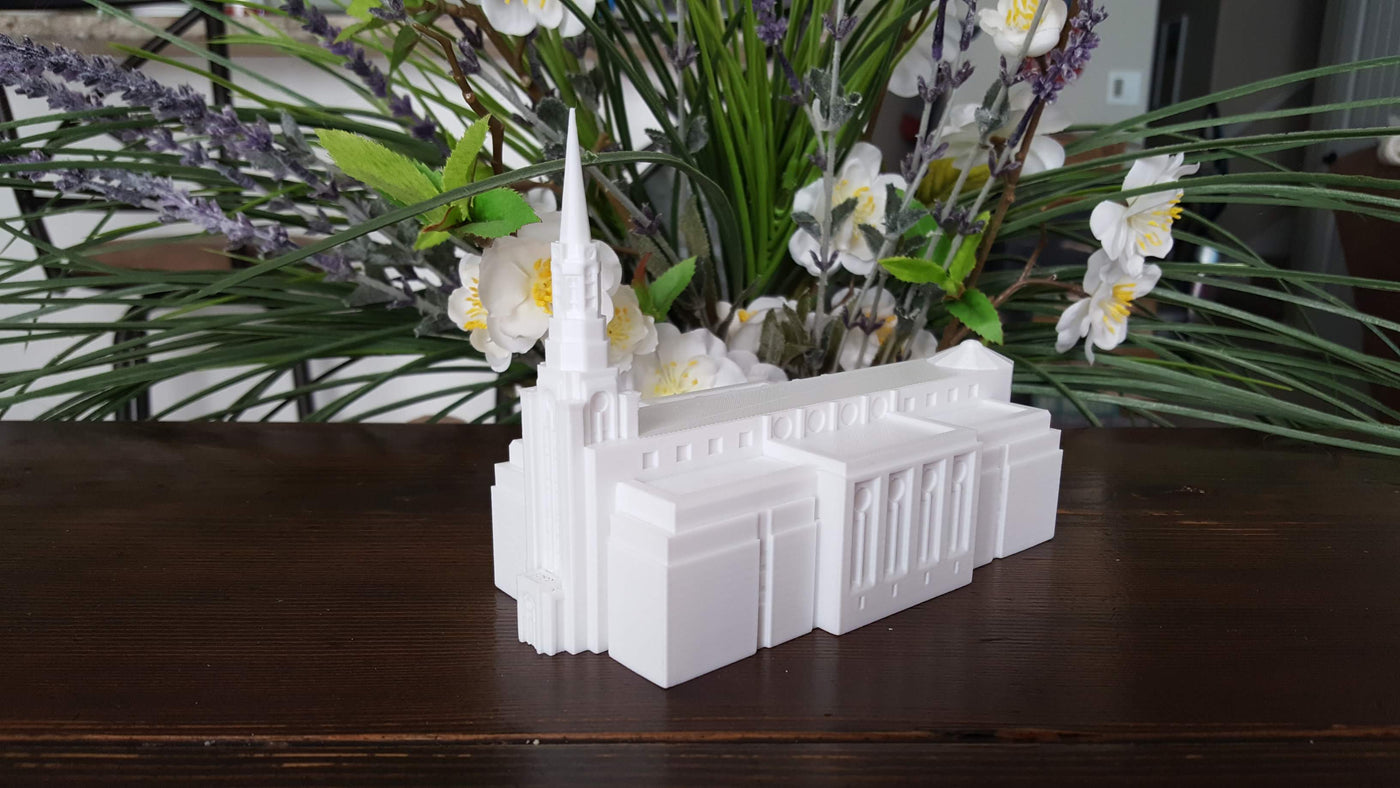 Boston Massachusetts Temple Replica Statue