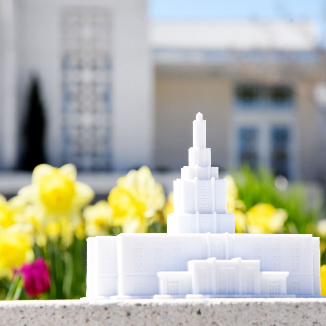 Idaho Falls Idaho Temple Replica Statue (back ordered until January 15th)