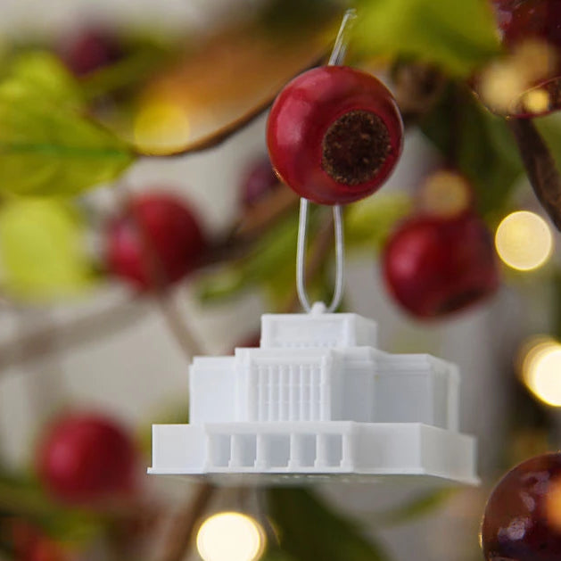Laie Hawaii Temple Christmas Ornament