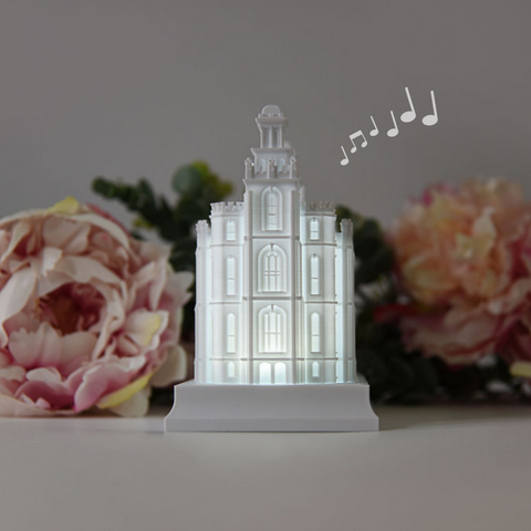Logan Temple Music Light
