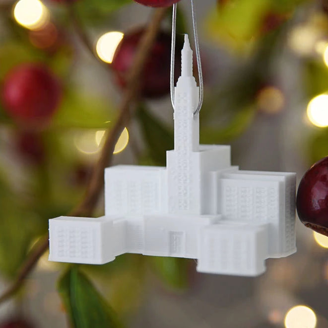 Los Angeles California Temple Christmas Ornament (back ordered until January 15th)