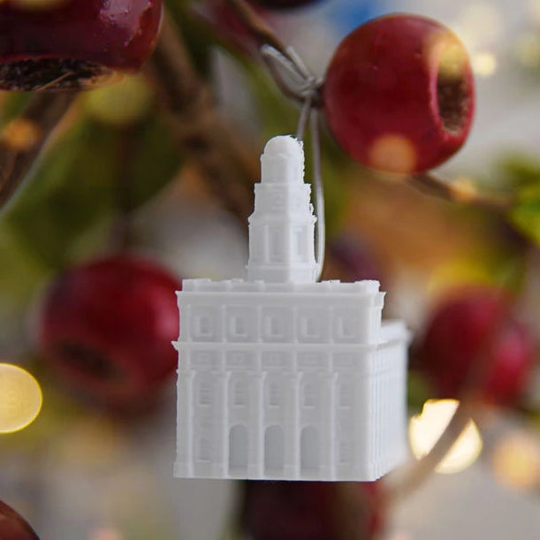 Nauvoo Illinois Temple Christmas Ornament