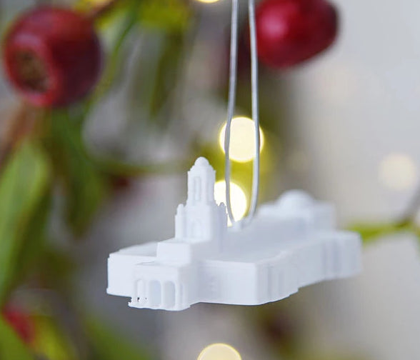 Newport Beach California Temple Christmas Ornament